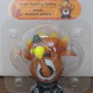 Solar Dancing Turkey Thanksgiving Light Activated Decoration - New