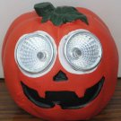 Solar Halloween LED Light Up Jack O Lantern / Pumpkin Yard Light Decoration