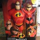 Disney Pixar Incredibles 2 Power Couple Talking Mr. Incredible Elastigirl - New in Box