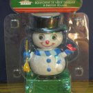 Christmas House Solar Dancing Snowman Light Activated Decoration - New - 2016
