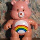 """Care Bears Cheer Bear PVC Plastic 3 1/4"""" Figure - 1990s Vintage"""