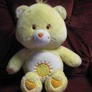 """Care Bears Giant Plush Funshine Bear 22"""" Large Plush - Play Along - 2003"""