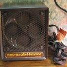 Pelonis Safe-t-Furnace Model 1500W 5200 BTU Compact Space Heater with Fan - 1988 Vintage