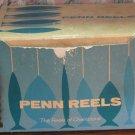 Penn Reels Fishing Reel Empty Retail Box from Leveline 350M - 1976 Vintage