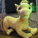 "Disney Lion King Simba 20"" Plush - Hasbro - 2002 Vintage"