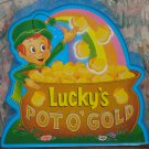 Lucky Charms Cereal Lucky's Pot O' Gold Bank - General Mills Premium - 1991 Vintage
