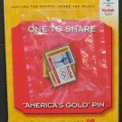 Olympic Games Great Moments Pin One to Share Tara Lapinski Figure Skating 1998 - 2001 Vintage