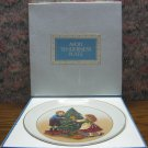 Avon Christmas Collector Plate Memories - 2nd Edition - Keeping Tradition - 1982 Vintage