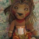 """Disney Lion King Broadway Musical Plush Simba - 10"""" - Detagged"""