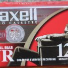 Audio Cassette Tape - Maxell UR120 - 120 Minute Blank Tape - Normal Bias