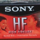 Audio Cassette Tape - Sony HF60 - 60 Minutes - New / Sealed