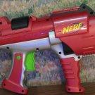 Nerf Dart Tag Hyperfire 10 Round Soft Dart Revolver Blaster Gun - Red