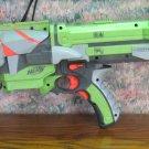 Nerf Vortex Nitron Motorized Foam Disc Launcher Blaster Rifle - Green Orange