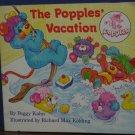 The Popples' Vacation Story Book - Peggy Kahn - Random House - 1987 Vintage