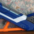 Nerf Retaliator Soft Dart Gun Butt Stock Attachment - Blue - N-Strike Elite