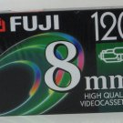 Fuji P6-120 - 120 Minute High Quality 8mm Video Cassette Tape - New / Sealed