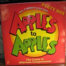 Apples to Apples Hilarious Comparisons Game Party Box - Nearly Complete - 2007