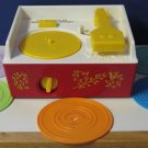 Fisher Price Music Box Classic Wind Up Record Player with 5 Records - 2010 Remake