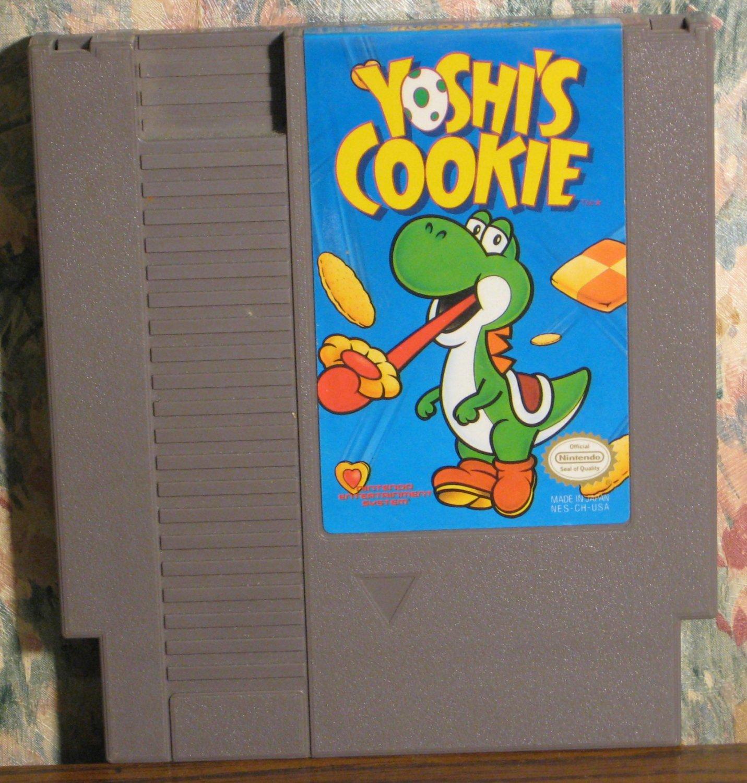 Nintendo NES Yoshi's Cookie - Cartridge Only - 1993 Vintage