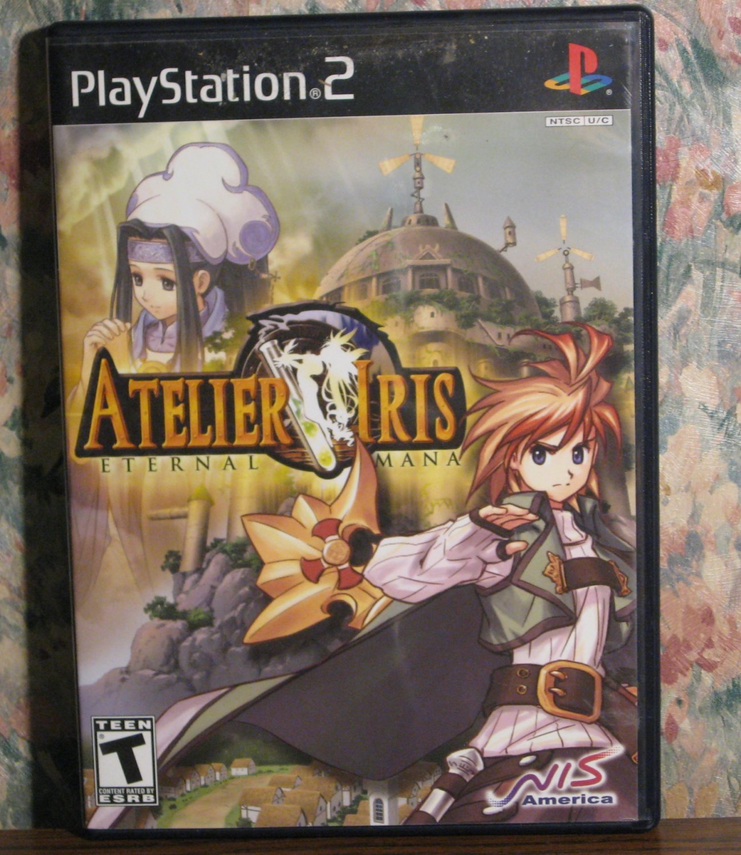 SOLD - Sony PS2 Atelier Iris Eternal Mana RPG - Playstation 2 - 2005 Vintage