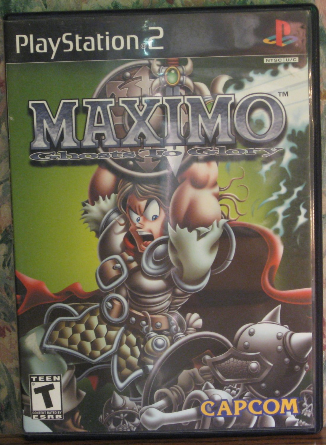 Sony PS2 Maximo: Ghosts to Glory - Playstation 2 - Capcom - 2002 Vintage