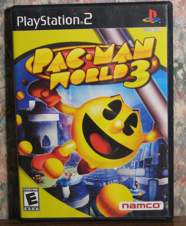Sony PS2 Pac-Man World 3 - Playstation 2 - Namco - Pac Man - 2005 Vintage