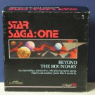 Apple IIGS Star Saga One Beyond the Boundary Computer / Tabletop Combo RPG - 1988 Vintage
