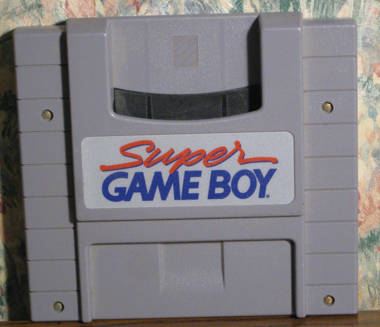 Nintendo SNES Super Game Boy Adapter Cartridge - Gray - NTSC - 1994 Vintage