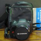Chinon GS-9 Genesis III 35mm SLR Film Camera - Black - 1990 Vintage