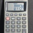 Casio Solar Pocket Calculator HS-8V