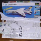 Model Kit - Revell F-8E Crusader Jet Commando Navy Fighter - 1969 Vintage