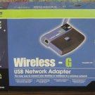 Linksys Wireless G USB Network Adapter WUSB54G - 2.4GHz - Windows 10 Tested