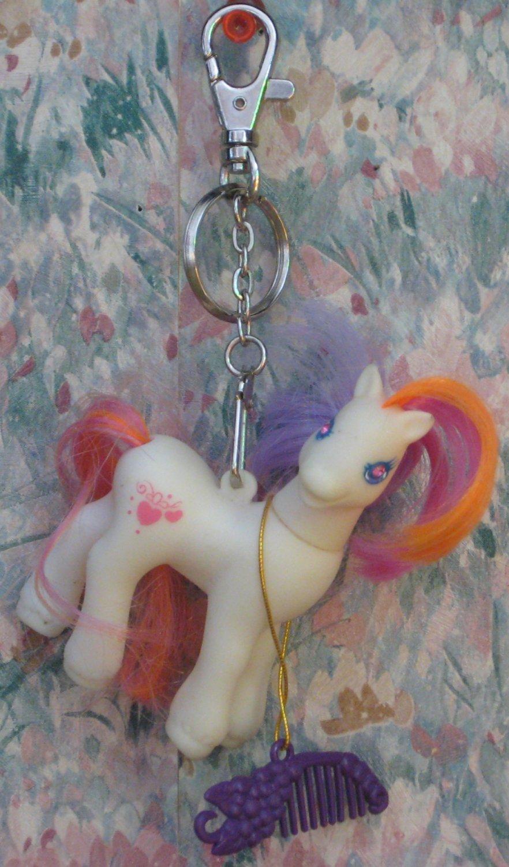 My Little Pony G2 Keychain - Light Heart - Generation 2 - Hasbro - 1998 Vintage