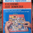 Battery Operated Electronic Quiz Computer Memory Match Game - IMCO - 1980s Vintage