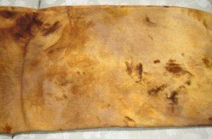Leather abrash dyed rug hooking wool - Skip To My Ewe