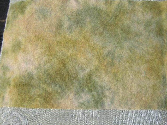 Wilted spot dyed rug hooking wool - Skip To My Ewe