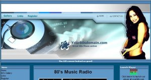 80s Web Radio Station