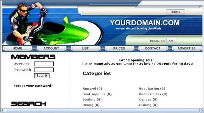 Watersports Classifieds