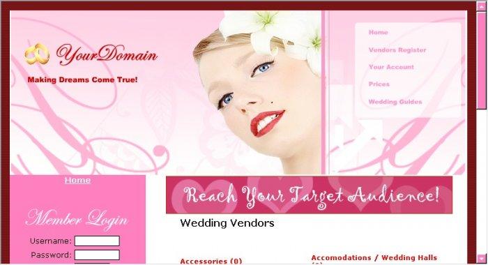 Wedding Classifieds Site