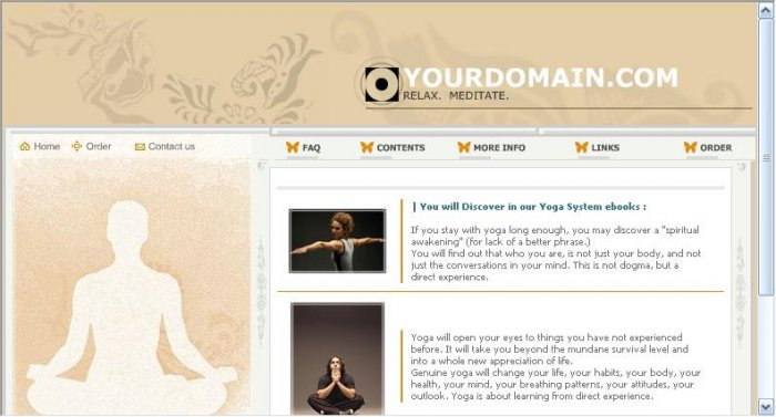 Yoga Ebook Site