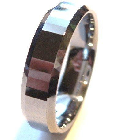 High Polish Tungsten Carbide Wedding Band Ring, TU3040  Sz 12