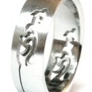 Tribal Laser Cut Stainless Steel Ring SSR15
