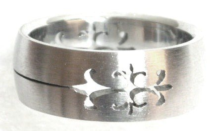 Laser Cut Stainless Steel Ring SSR46