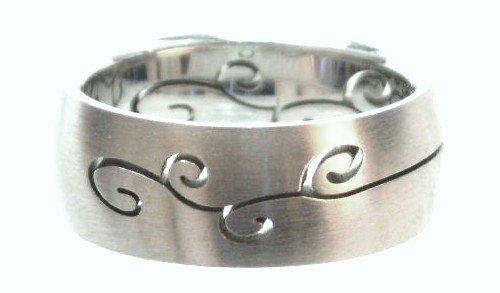 Laser Design Stainless Steel Ring SSR45