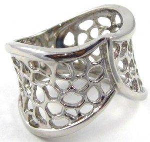 16mm Filigree High Polish Stainless Steel Ring SSR2945