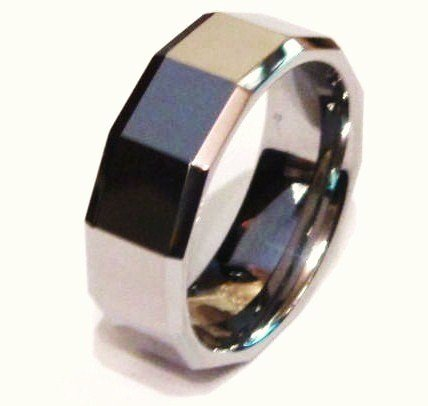 High Polish Tungsten Carbide Ring TU3020