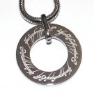 Tungsten Lord of the Rings Pendant SS Chain NP3000