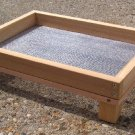 Cedar Ground Platform Bird Feeder - large