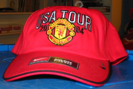 Manchester United Kids Nike Hat Cap New NWT Nice UK Soccer English Premiere
