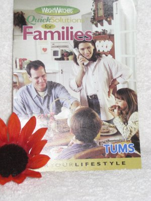 Weight Watchers Quick Solution for Families